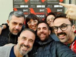 The comma society team uai