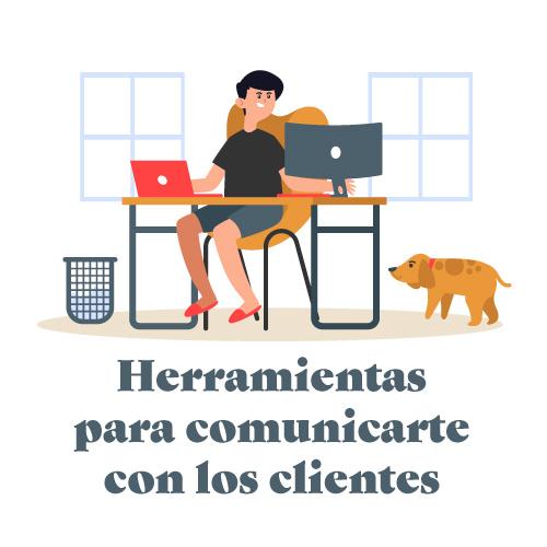 Herramientas comunicación clientes