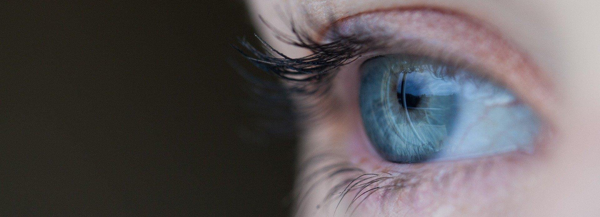 ojo mirada