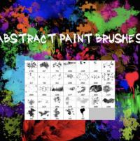 pinceles abstractos