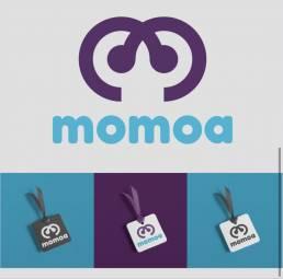 diseño de logo marca personal momoa terrecrea cris terré