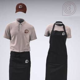 uniforme. branding terrecrea
