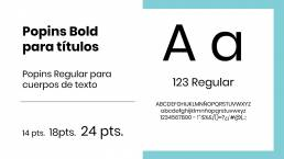 tipografía para marca uai